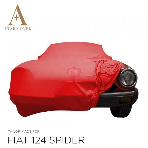 Fiat 124 Spider 1966-1985 - Indoor Car Cover - Red