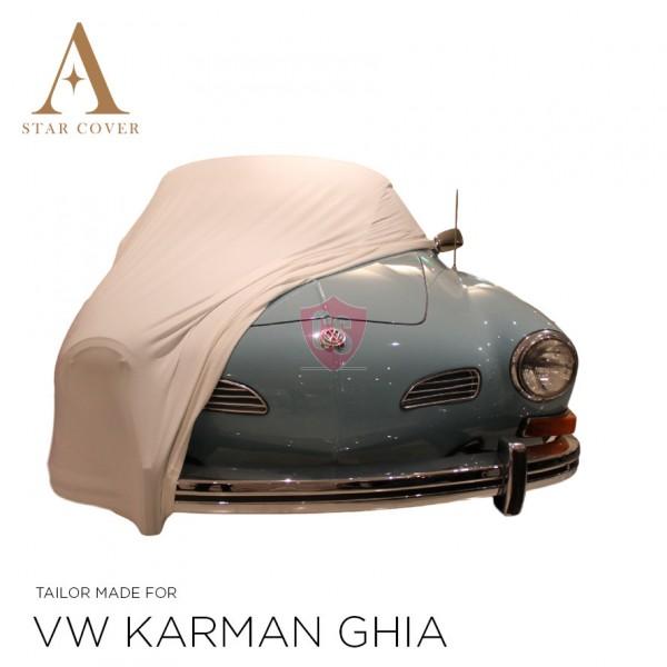 Volkswagen Karmann Ghia Indoor Car Cover - White