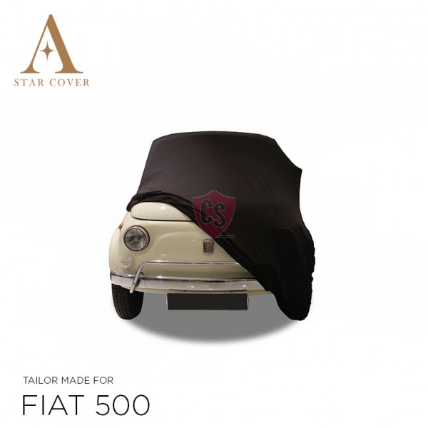 Fiat 500 - Indoor Car Cover - Black