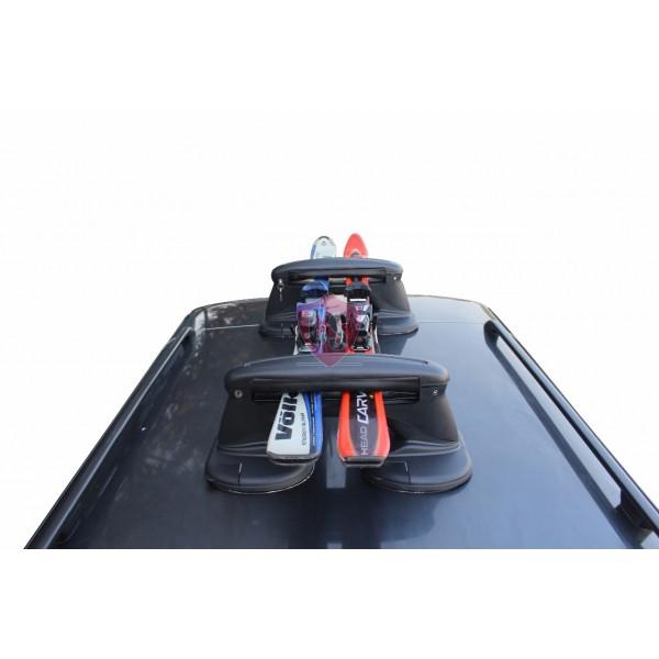 Magnetic Ski- and Snowboard Carrier | FABBRI TACO