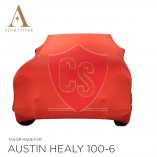 Austin-Healey 100 Indoor Car Cover - Tailored - Red