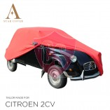 Citroën 2CV Cover - Tailored - Red