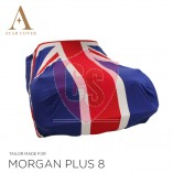 Morgan Plus 8 Indoor Car Cover - Tailored - Union Jack