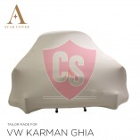 Volkswagen Karmann Ghia Indoor Car Cover - White