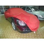 Porsche Boxster 718 Cover - Tailored - Mirror pockets - Satin Red