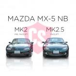 Mazda MX-5 NB Mesh Grill - BLACK EDITION (1 piece) 2002-2005 Facelift Model