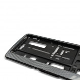 License plate holder in Carbon-Look (1 piece)