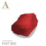 Fiat 500 - Indoor Car Cover - Red