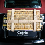 Luggage Belts Made of Leather - Beige