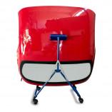Foldable Hardtop Storage Cart   Dolly