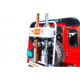 Spare Tire Ski Rack Off-Road Vehicles 4x4   FABBRI GRINGO SKI