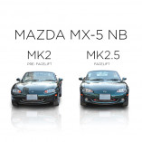 Mazda MX-5 NB Mesh Grill - BLACK EDITION (1 piece) 1998-2002 till Facelift