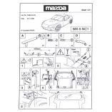 Genuine Mazda® MX-5 MK3 NC Hardtop Wall Hanger  2005-2014