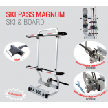 Ski Pass Magnum - Ski and Snowboard