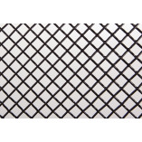 Fiat 500 Mesh Grill (1 piece) 2007-2015l - BLACK EDITION
