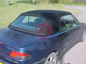 Peugeot 306 hood with PVC rear window 1994-2003
