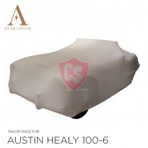 Austin-Healey Indoor Car Cover - Silvergrey