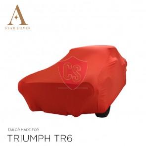 Triumph TR4 TR6 Cover - Tailored - Red