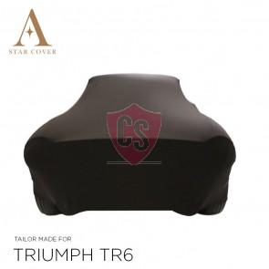 Triumph TR4 TR6 Cover - Tailored - Black