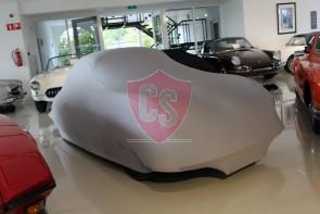 Porsche 356 Indoor Car Cover - Silvergrey