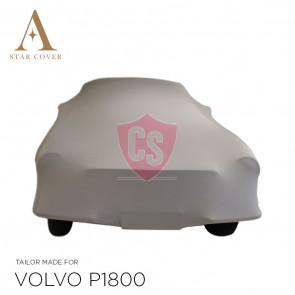 Volvo P1800 Indoor Car Cover - Tailored - Silvergrey