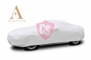 Abarth 124 Spider - Indoor Car Cover - White