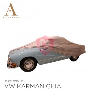 Volkswagen Karmann Ghia Cover - Tailored - Silvergrey