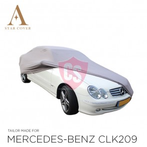 Mercedes-Benz R107SL Indoor Car Cover - Silvergrey
