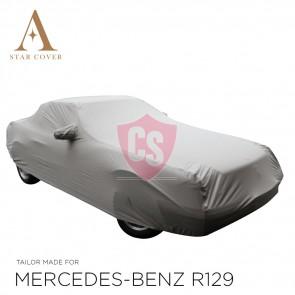 Mercedes-Benz R129 SL Outdoor Cover - Star Cover - Military Khaki - Mirror Pockets