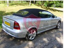 Opel Astra G fabrics hood glass rear window 2000-2006
