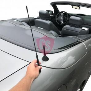 Mini antenna (5cm) The Stubby SAAB 9-3 Cabrio YS3F 2003-2014