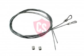 Fiat Barchetta Side Tension Cable Set (2 pieces)