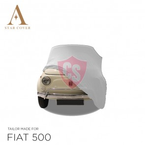 Fiat 500 - Indoor Car Cover - White