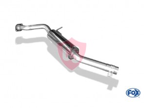 Exhaust part FOX Mazda MX-5 ND/RF