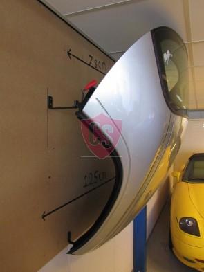 Porsche 986 Boxster Hardtop Wall Mounting Kit