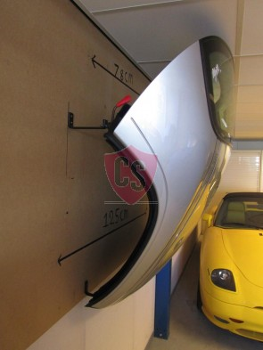 Porsche 987 Boxster Hardtop Wall Mounting Kit