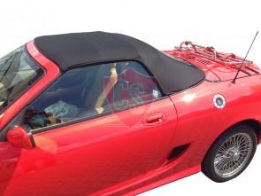MGF / TF mohair hood - PVC rear window 1998-2005