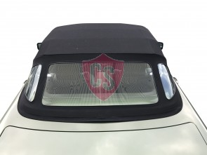 Mercedes-Benz R107 SL 1972-1989 fabric top with window section Mohair