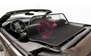 Ford Mustang 4 SN-95 Single Frame Wind Deflector - Black 1994-2004