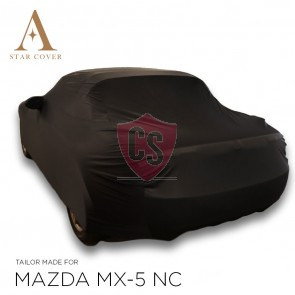 Mazda MX-5 NC Indoor Cover - Tailored - Mirror pockets - Black
