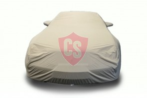 Mercedes-Benz R230 SL Outdoor Cover - Military Khaki - Star Cover - Mirror Pockets