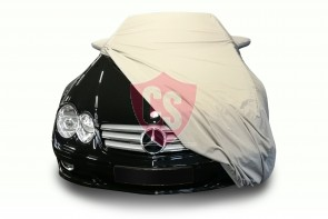 Mercedes-Benz R230 SL Outdoor Cover - Military Khaki - Star Cover - Mirror Pockets