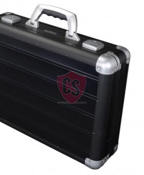 Aluminum travel case Toscane - Matt Black