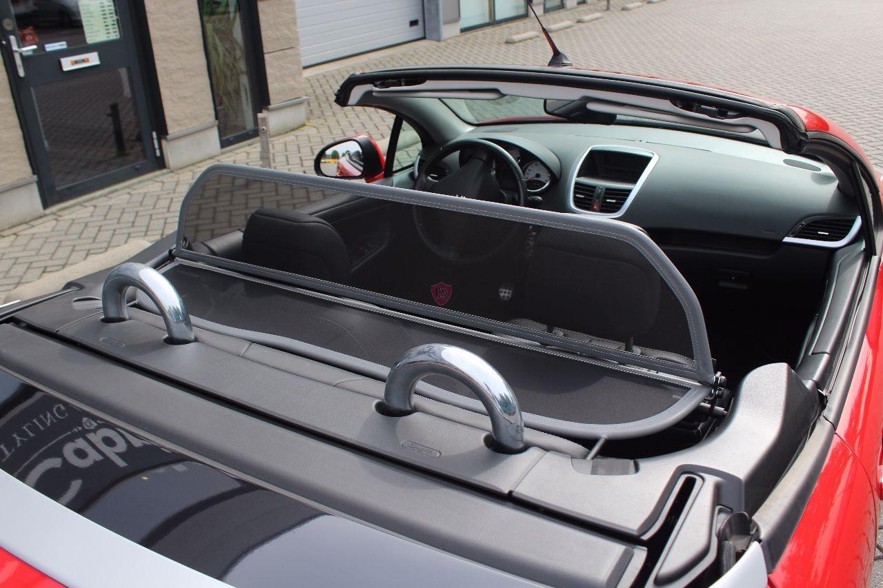 peugeot 207 cc wind deflector grey 2006 2014 cabrio supply