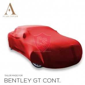 Bentley Continental GT Indoor Car Cover - Tailored - Red
