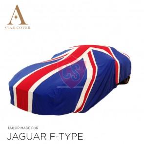 Union Jack Car Cover Vehicle Length 470 - 520 cm