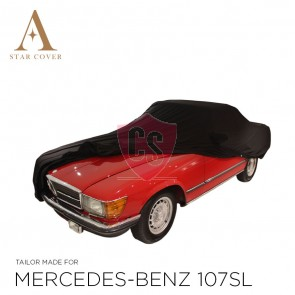 Mercedes-Benz R107 SL Outdoor Cover - Star Cover - Mirror Pockets