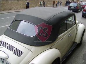 Volkswagen Kever 1302 hood rear window will be reused 1968-1972