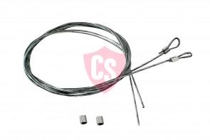 Fiat Punto Cabrio Side Tension Cable Set (2 Pieces)