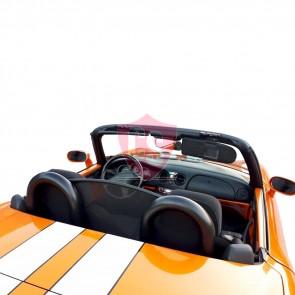 Fiat Barchetta anti roll bars + wind deflector - BLACK EDITION 1995-2005